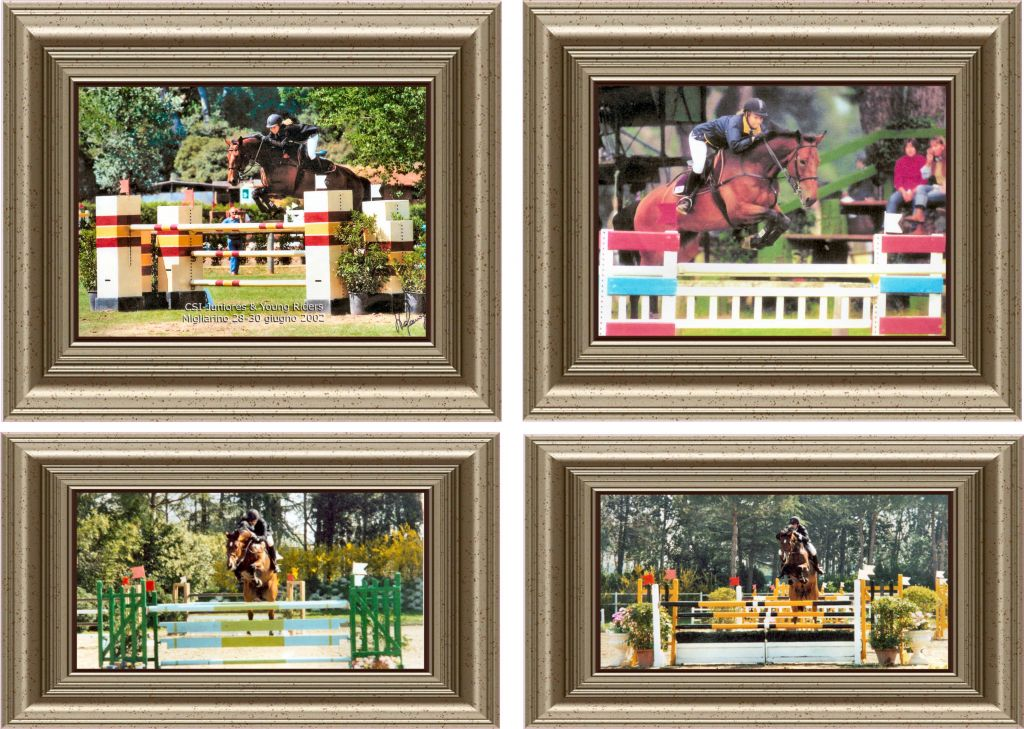 ALEX & ASHLEY DI BARTOLOMEO SHOW JUMPERS