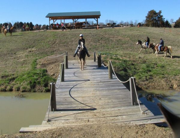 MC MILLIAN  FARMS HORSE TRAILS  FISHING PONDS