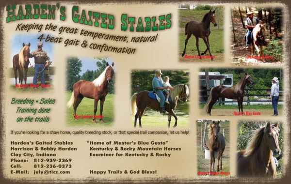 Harden's Gaited Stables