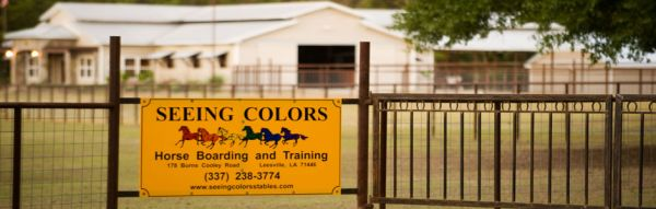 Seeing Colors Horse Boarding Stables